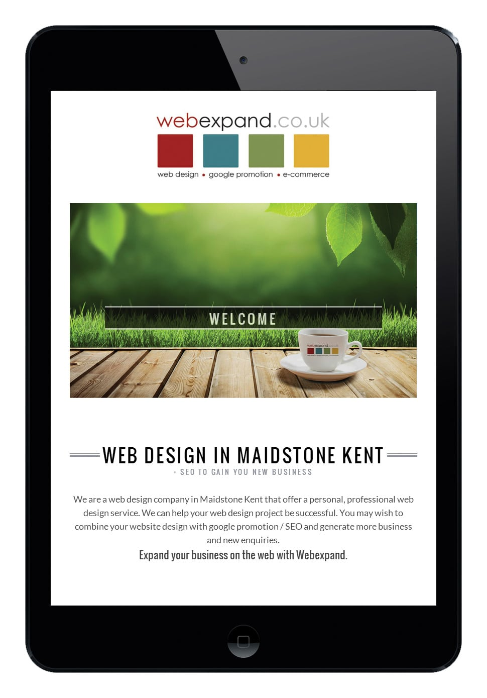 Web Design Agency in Kent Webexpand