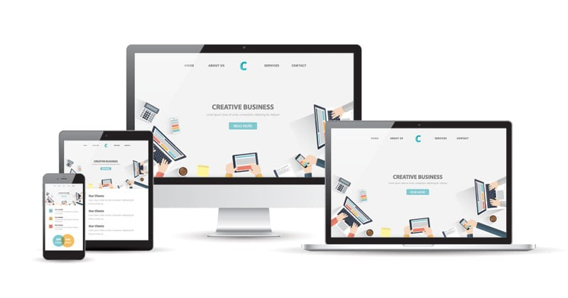 Responsive web design in Maidstone Kent and London