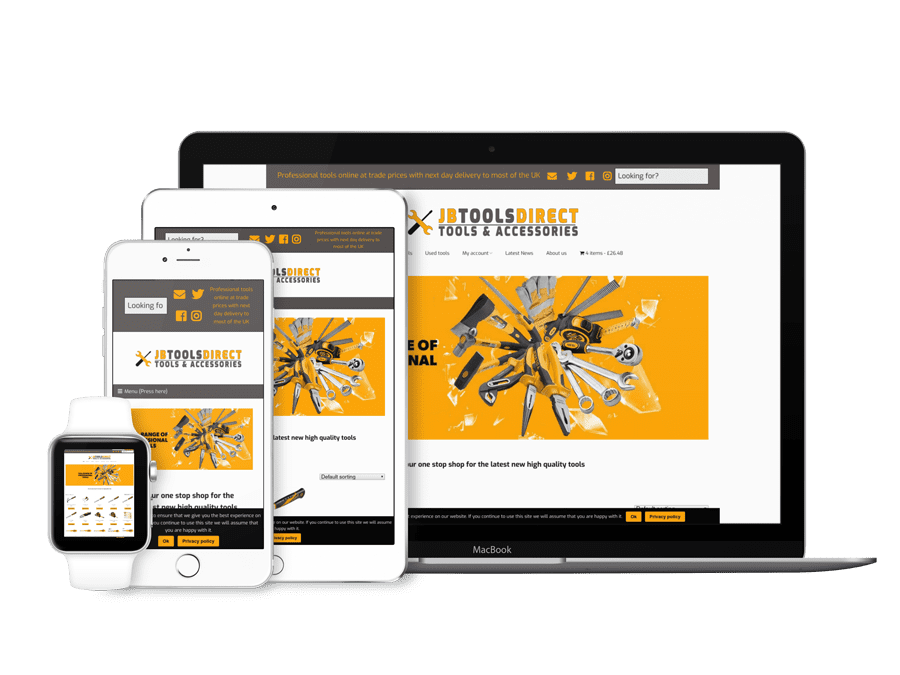 Tradesman website design