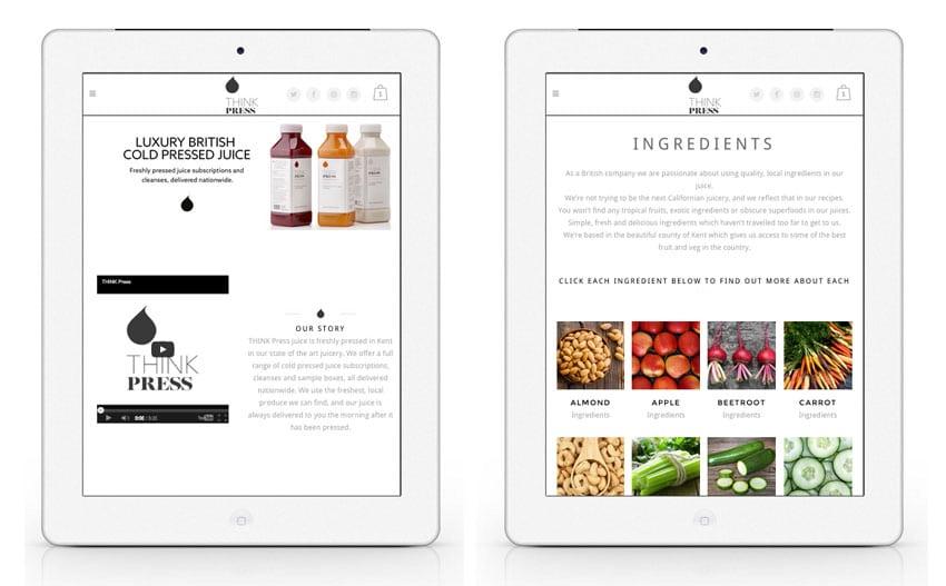 Best Food Web Design