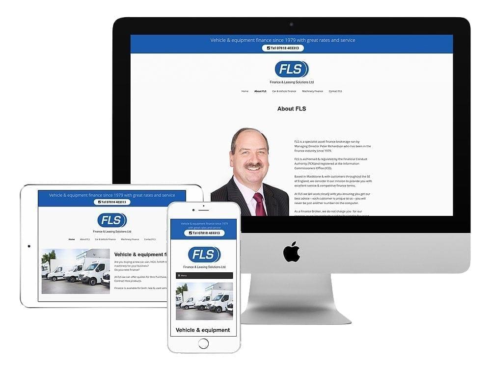 FLS Finance new website launch