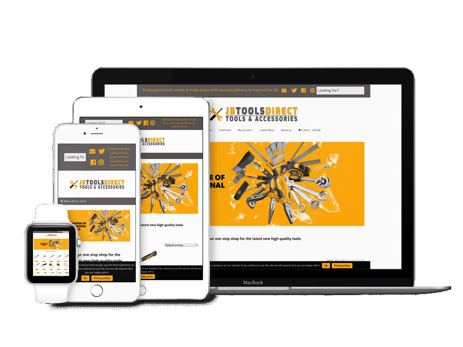 Tradesmen Website Design