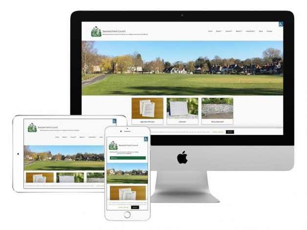 Website launch for Parish Council