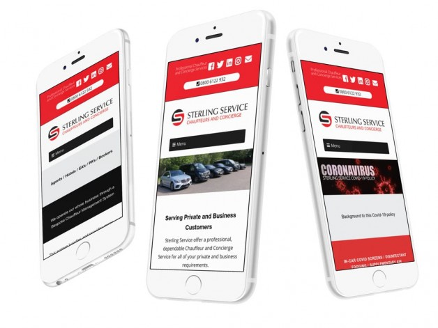 New site launched for Sterling Service