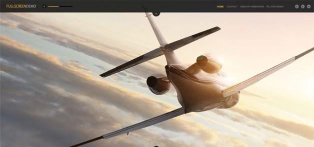 Full Screen Web Design