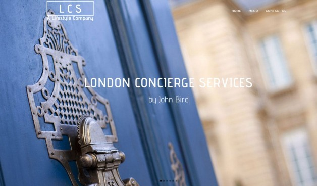 Concierge web design