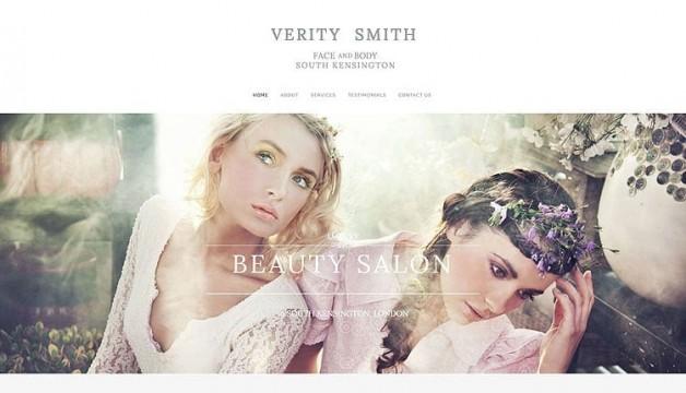 London Beauty Salon Web Design
