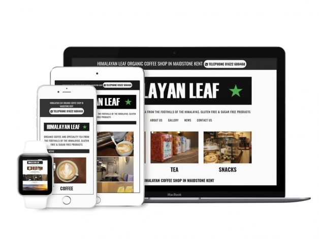 Coffee Shop Web Design
