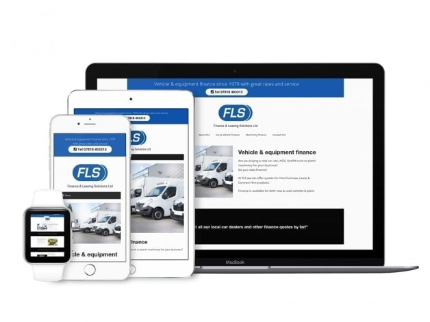 New car & asset finance website